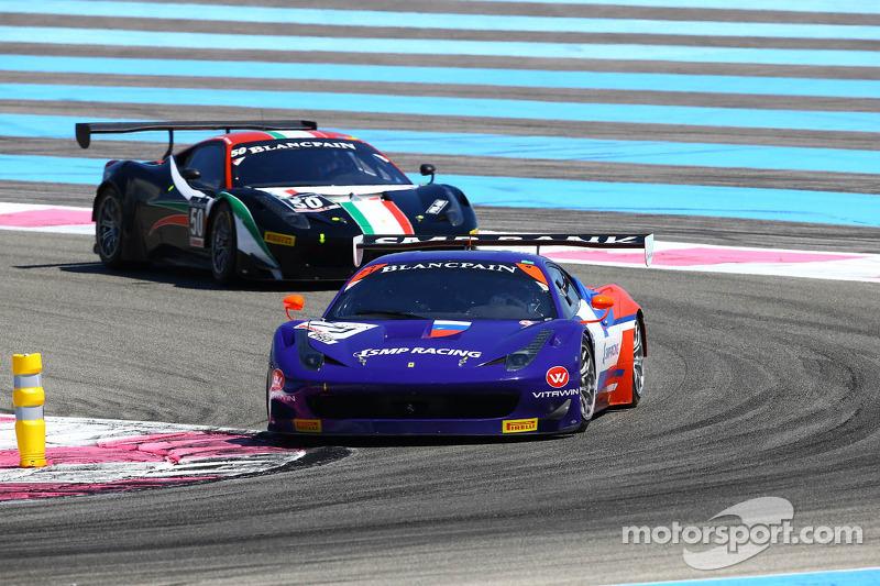 #71 SMP Racing: Kirill Ladygin, Devi Markozov, Victor Shaitar, Ferrari 458 Italia