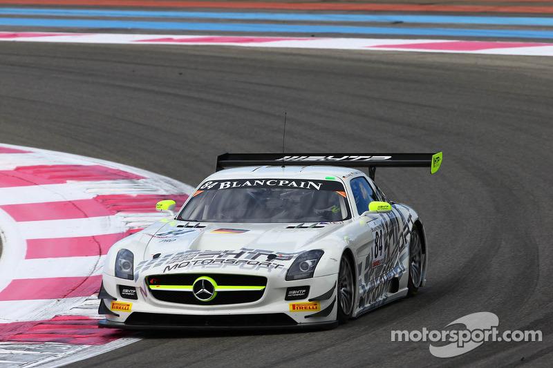 #84 HTP Motorsport: Maximilian BUHK, ALON DAY, LUCA LUDWIG, MERCEDES SLS AMG GT3