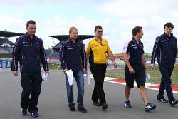 Valtteri Bottas, Williams loopt op het circuit