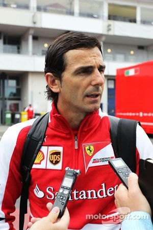 Pedro de la Rosa, Ferrari