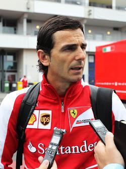 Pedro de la Rosa, Ontwikkelingsrijder Ferrari en GPDA Chairman