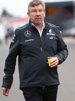 Ross Brawn, Teambaas Mercedes AMG F1