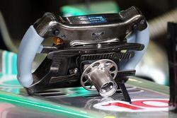 Le volant de Lewis Hamilton, Mercedes AMG F1