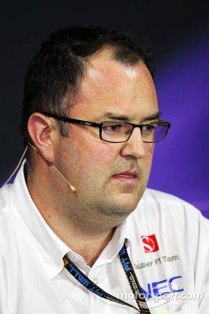 Tom McCullough, Sauber F1 Team