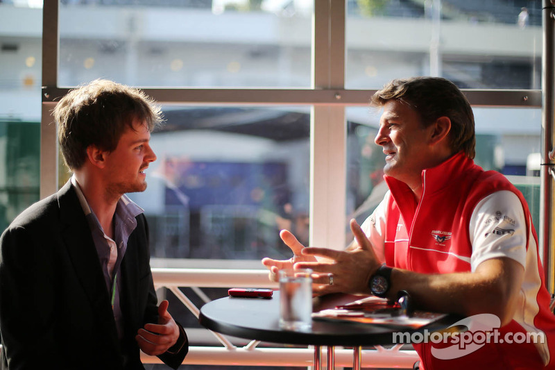 Graeme Lowdon, Marussia F1 Team Chief Executive Officer