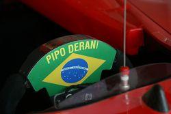La voiture de Pipo Derani