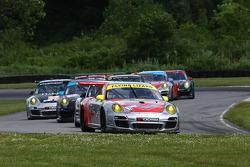 #45 Flying Lizard Motorsports Porsche 911 GT3 RSR: Nelson Canache, Jr., Spencer Pumpelly