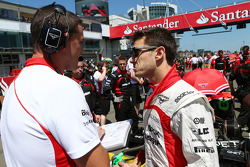 Jules Bianchi, Marussia F1 Team on the grid