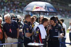 Sebastian Vettel, Red Bull Racing et son ingénieur Guillaume Rocquelin