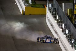 Martin Truex Jr., Michael Waltrip Racing Toyota crashes