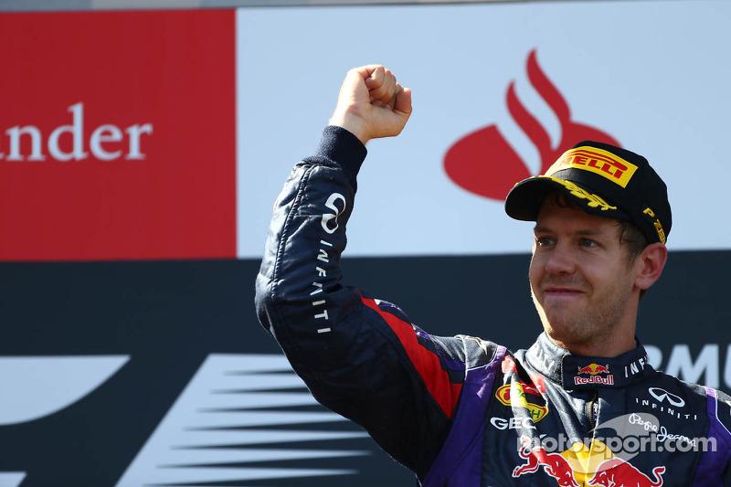 1e plaats for Sebastian Vettel, Red Bull Racing