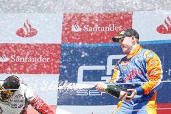 Race winner Jon Lancaster