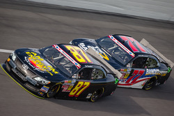 Joe Nemechek and Parker Kligerman