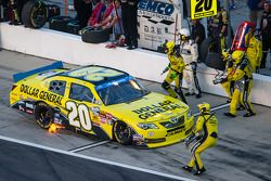 Pit stop Brian Vickers