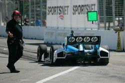Simon Pagenaud, Schmidt/Hamilton Motorsports Honda practices standing starts