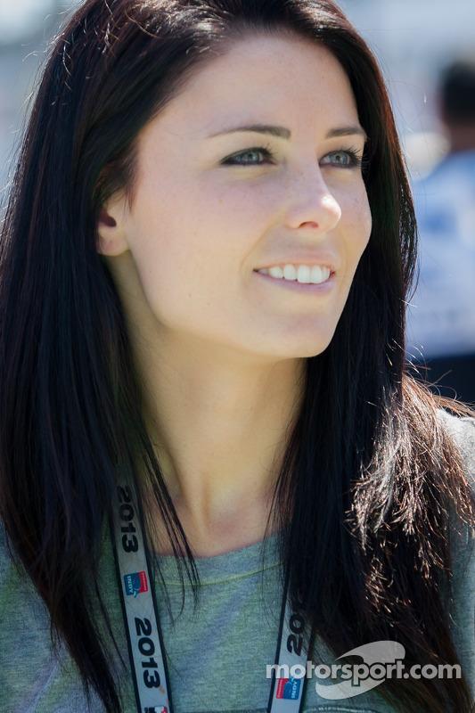 Kristen Dee, Namorada do James Hinchcliffe, Andretti Autosport Chevrolet