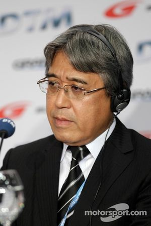 Press Conference DTM Regulation in 2017 with GRAND AM, Super GT, Masaaki Bandoh, Chairman, GTA