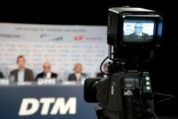 Press Conference DTM Regulation in 2017 with GRAND AM, Super GT