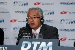 Press Conference DTM Regulation in 2017 with GRAND AM, Super GT, Yoshiki Hiyama, JAF