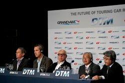 Press Conference DTM Regulation in 2017 with GRAND AM, Super GT, Dr. Gerd Ennser, Ed Bennet, Hans Werner Aufrecht, Team Chef HWA, ITR President, Yoshiki Hiyama, JAF, Masaaki Bandoh, Chairman, GTA