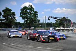 Edoardo Mortara, Audi Sport Team Rosberg Audi RS 5 DTM and Gary Paffett, Mercedes AMG DTM-Team HWA D