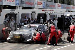 Pitstop Filipe Albuquerque, Audi Sport Team Rosberg Audi RS 5 DTM