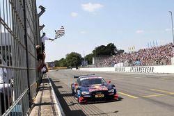 Mattias Ekström, Audi Sport Team Abt Sportsline, Audi A5 DTM takes the win