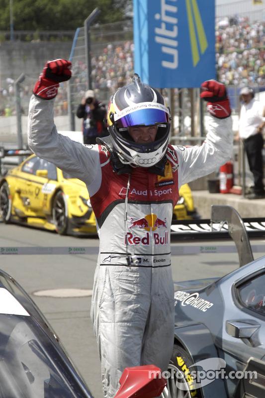 Vencedor Mattias Ekström, Audi Sport Team Abt Sportsline, Audi A5 DTM