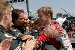 Winner Mattias Ekström, Audi Sport Team Abt Sportsline, Audi A5 DTM
