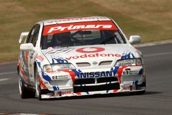 Ex Laurent Aiello (BTCC-kampioen 1999) Super Touring Nissan Primera bestuurd door James Dodd