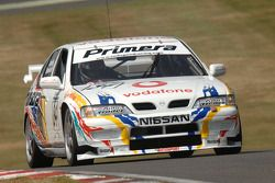 Ex David Leslie 1997 Super Touring Nissan Primera bestuurd door Richard Hawken
