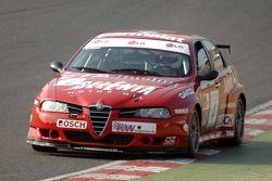 Ex Fabrizio Giovanardi ETCC Championship 2002 Alfa Romeo 156 S2000 gefahren von Stephen Dymoke
