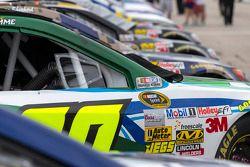 Les voitures sont prêtes