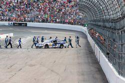 O vencedor Brian Vickers, Michael Waltrip Racing Toyota