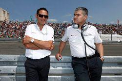 Hans-Jürgen Abt, Team Manager Audi Sport Team Abt Sportsline moit Dieter Gass, Audi DTM