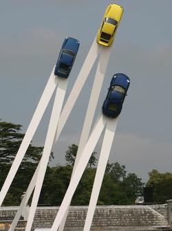 Monumento del Porsche 911 en Goodwood