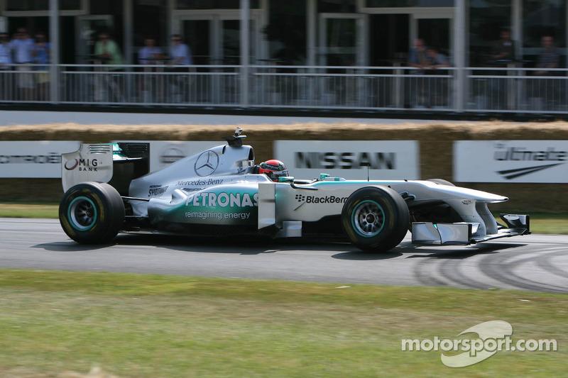 Brendon Hartley, Mercedes MGP W02