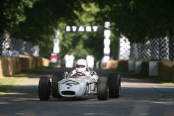 Габриэле Тарквини за рулем Honda RA272 1965 года
