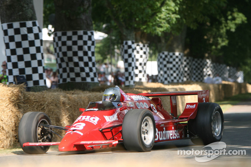 Bill Bryan, March Cosworth 86C