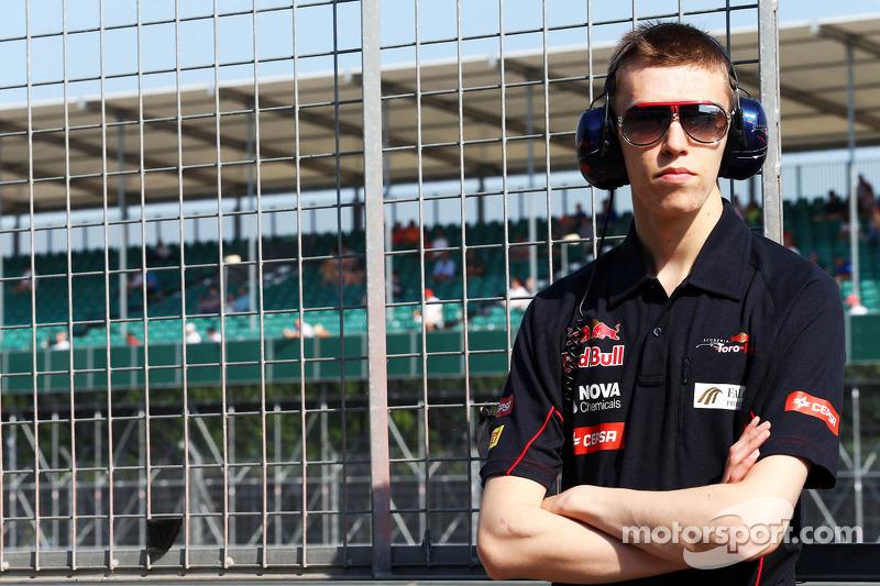 Daniil Kvyat, Scuderia Toro Rosso Test Driver