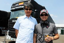 Taki Inoue et Kimiya Sato, Sauber