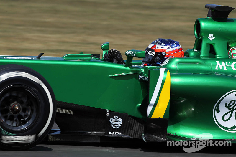 Will Stevens, Caterham CT03 Test Pilotu