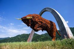 De Red Bull Ring standbeelden