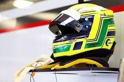 Le casque de Kimiya Sato, Sauber