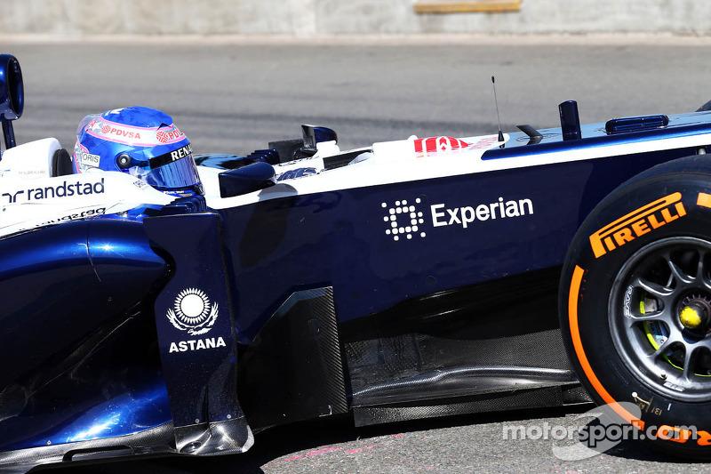 Susie Wolff, Williams FW35 piloto de desenvolvimento deixa os pits