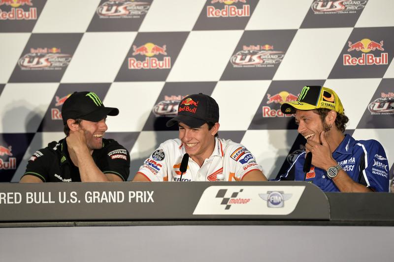 Cal Crutchlow, Monster Yamaha Tech 3, Marc Marquez, Repsol Honda Team, Valentino Rossi, Yamaha Facto