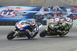 Jorge Lorenzo, Yamaha Factory Racing and Cal Crutchlow, Monster Yamaha Tech 3