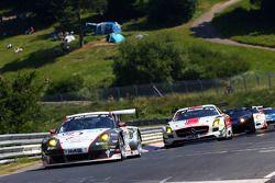 Georg Weiss, Jochen Krumbach, Oliver Kainz, Michael Jacobs, Wochenspiegel Team Manthey, Porsche 911