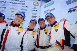 Jochen Krumbach, Georg Weiss, Oliver Kainz, Michael Jacobs, Wochenspiegel Team Manthey, Porsche 911
