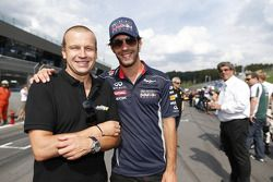 Olivier Panis and Jean-Eric Vergne